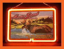 Moose Drool (Pattern 1) Hub Bar Display Advertising Neon Sign