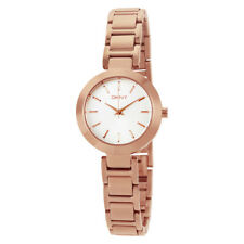 DKNY Ladies Rose Gold Steel Bracelet Watch NY2400