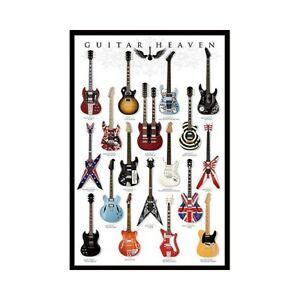 GUITAR HEAVEN POSTER 24x36 - MUSIC 3274