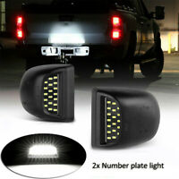 Fit For 99-13 Chevy Silverado Avalanche Bright SMD LED License Plate Lights Lamp