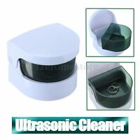 Ultra Sonic Jewellery Care Cleaner Home Denture Watches Jewelry Ring Cleaning