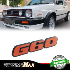 For Vw Cc Golf Passat Jetta Corrado Mk2 G60 Red Emblem Badge Trunk Sticker Decal Fits Jetta