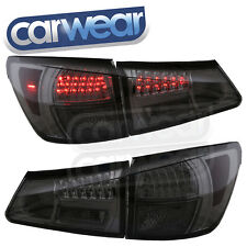 SMOKE CHROME LED TAIL LIGHTS LEXUS ISF IS250 IS350 GSE20R 05-08