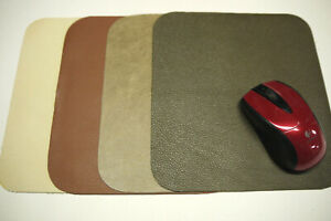 4 Leather Mouse Pads. Made in USA