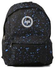 Hype Black Blue Speckle Backpack Bag  - School Bags - FREE POST - Rucksack