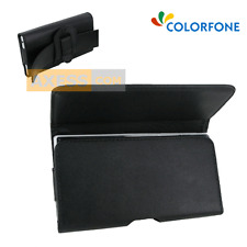 Etui Pochette BLACK HOLDER Horizontal Noir compatible ARCHOS 50 Titanium