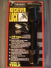 """Trimax T3 Black Receiver Lock 5/8"""" Pin Class III & IV Tow Trailer Hitch T3BLK"""