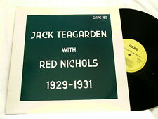 JACK TEAGARDEN with RED NICHOLS 1929-1931 Benny Goodman Gene Krupa LP
