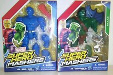 Super Hero mashers A bomb and Skaar Marvel mix and match figures rare