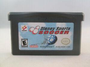 Nintendo Gameboy Advance GBA - Disney Sports Soccer