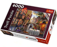 Trefl 6000 Piece Romantic Supper Jigsaw Puzzle