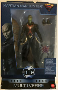 DC Comics Multiverse MARTIAN MANHUNTER Figure With Clayface Build a Figure