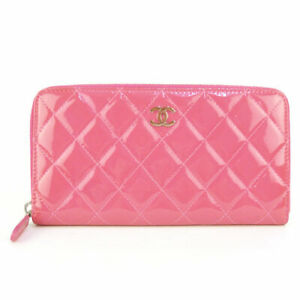 CHANEL Matelasse Wallet A50097 Patent leather cw1238
