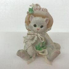 Calico Kittens Our Friendship Blossomed From the Heart 627887 Cat w/ Flower Hat