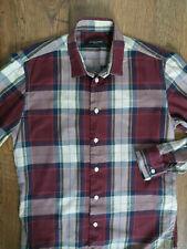 BRUUNS BAZAAR men's casual long sleeve shirt size S