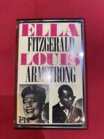 Ella Fitzgerald E Louis Armstrong - Rare Jazz Cassette Tape From Italy