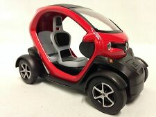 Renault Twizy, 1:18 scale Diecast Car, Pull Back Action, By Kinsfun Toys, Red