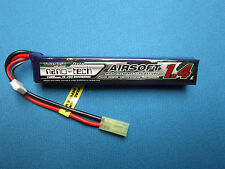 TURNIGY NANO-TECH 1400mAh 3S 11.1V 15-25C LIPO BATTERY AIRSOFT MINI TAMIYA MOLEX