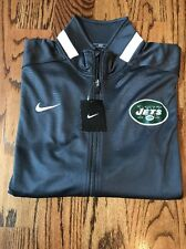 NWT NY JETS Official Nike Team Enforcer Full-Zip Jacket Gray  - XL