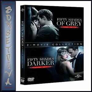 FIFTY SHADES DARKER PLUS FIFTY SHADES OF GREY-2 MOVIE COLLECTION*BRAND NEW DVD**