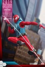 Sideshow Hot Toys Toy Fair 2019 Exclusive SCARLET SPIDER 1/6 Scale MIB Unopened!