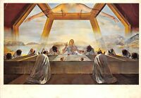 09722 Postcard Salvador Dali Painting The Weaning of Furniture Nutrition
