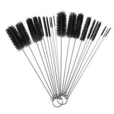 10Pcs Nylon Bottle Tube Nozzle Brushes Cleaning Brush Set for Kitchen Tattoo New