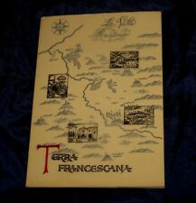 Terra Francescana ; La Valle Reatina - Padre Ettore Marini Libro 1970