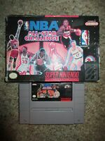 NBA All-Star Challenge (Super Nintendo SNES, 1992) with Box FAIR