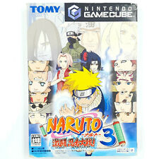 Naruto Gekitou Ninja Taisen 3 - Nintendo Gamecube - Avec notice - NTSC-J JAP