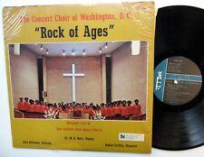 CONCERT CHOIR of WASHINGTON Rock of Ages LP Gospel