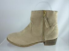 Diba Womens Beige Ankle Boots 6.5 M