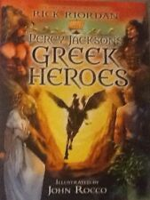 PERCY JACKSON'S GREEK HEROES RICK RIORDAN 400 PAGES 2015 FIRST EDITION