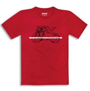 Original Ducati T-Shirt Streetfighter V4 Red New