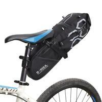 Bikepacking Bag Waterproof Bike Saddle Bag Large Capacity Cycling Rear Seat Pack