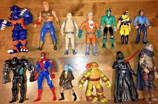 Vintage Action Figures GI Joe Star Wars HeMan Ninja Turtles Marvel Power Rangers