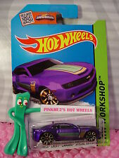 Case M/N 2015 i Hot Wheels 13 CHEVY CAMARO SPECIAL EDITION #232☆Purple;Gold TRAP