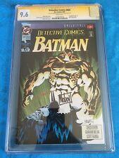 Detective #666 - DC - CGC SS 9.6 NM+ - Signed by Graham Nolan, Hanna - Batman