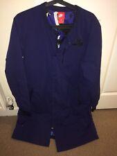 Nike Men's Medium Air Varsity Blue Parka Jacket Coat 830631-429