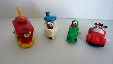 1993 Burger King MICKEY'S TOONTOWN - Complete Set of 4