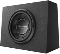 "Pioneer TS-WX106B 10"" 1100W 4 Ohm SVC Pre-Loaded Subwoofer Enclosure sub"