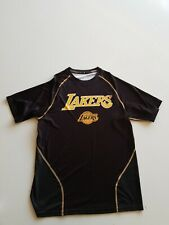 Los Angeles Lakers Adidas Climalite Shirt- Black