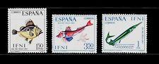 IFNI 1967 230/32 DIA DEL SELLO. PECES 3v.