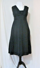 Navy Blue Per Una Broderie Anglaise Cotton Sundress, Size 10, BNWT, RRP £49.50