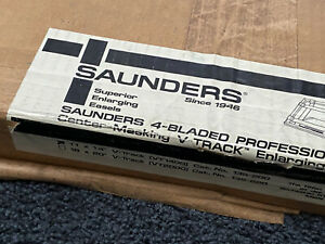 Saunders VT1400 V-Track 11x14 4-Bladed Easel UNUSED IN FACTORY SEALED BOX!