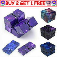 Sensory Infinity Cube Stress Fidget Toys for Autism Anxiety Relief Kids Adult R3