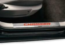 Dodge Charger 2006 - 2010 door sill guards plates illuminated OEM Mopar 82209685