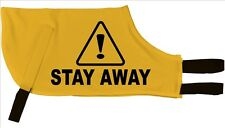 Caution Stay Away Greyhound Dog Coat I deal 4 nervous dogs that need space 816