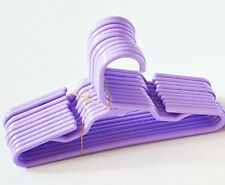 10 Purple Plastic Doll Hangers Fits 18 Inch American Girl Doll Clothes