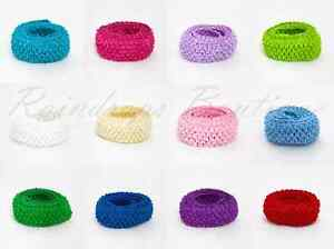 "Tutu Supplies Stretchy 1.5"" wide Crochet Elastic Waistband x Metre EN71 tested"